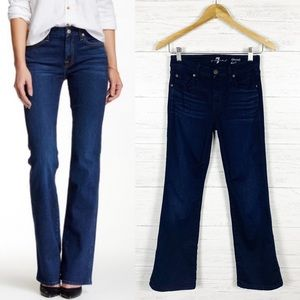 7 For All Mankind • Kimmie Dark Wash Bootcut Jeans